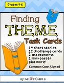 Finding Theme Task Cards - Short Stories & Extension Activities