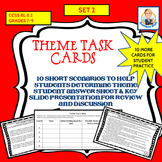 Theme Task Cards Set 2