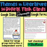 Theme Task Cards Using Google Forms or Google Slides: Dist