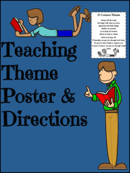 Theme Teaching Poster FREEBIE