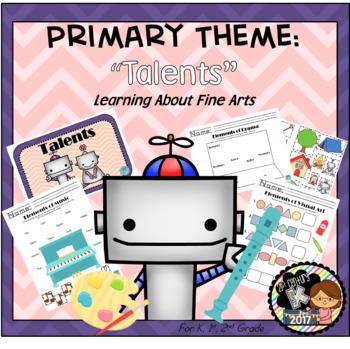 "Theme - The Arts - ""Talents"""
