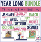 Theme Therapy Growing Bundle for Speech and Language!