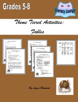 Theme Tiered Assessment for Literature
