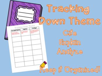 Theme Tracking Chart