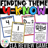 Theme Game for Literacy Centers: U-Know | Finding Theme