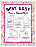Theme Unit - My Busy Body -  Preschool & Daycare - Caring