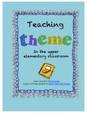 Theme Unit for Upper Grades - Common Core Aligned