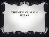 Theme VS Main Idea Presentation and Activity