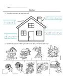 Theme Worksheet - Home