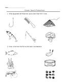 Theme Worksheet - Ocean and Fishermen