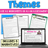 Themes in Literature Worksheets