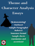 Literary Analysis - Theme and Character Analysis Essays