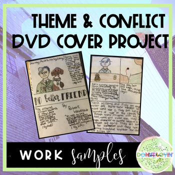 Theme and Conflict DVD Cover Project [great for any novel or story]