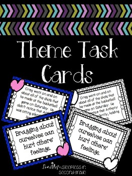 Theme and Message Task Cards