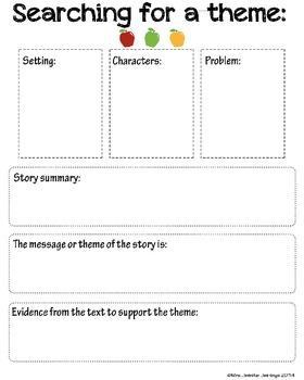 Theme and Plot Handouts