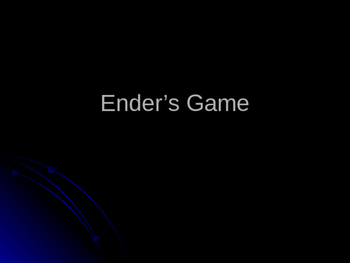 Theme comparison Ender's Game and Divergent