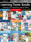 Theme for Preschool Lesson Plan Bundle