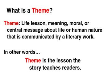 Theme in Literature