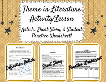 Theme in Literature Activity