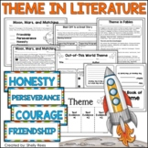 Theme in Literature:  Theme Match, Foldables, Writing, Posters