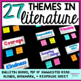 Teaching Theme in Literature (Definitions, Bulletin Board, Book Suggestions)