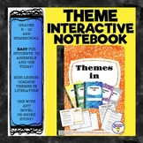 "Theme in Literature Interactive Notebook - ""Mini-Binder"" -"