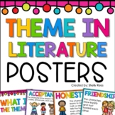 Theme in Literature Posters | Theme Poster
