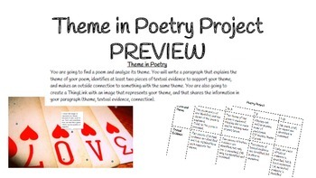 Theme in Poetry Project