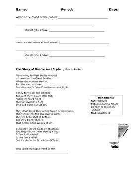 Poetry - theme
