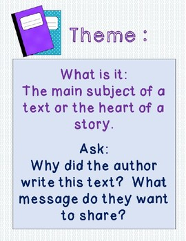 Theme lesson for any text