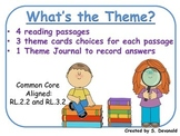 Theme: passages, theme cards, and theme journal