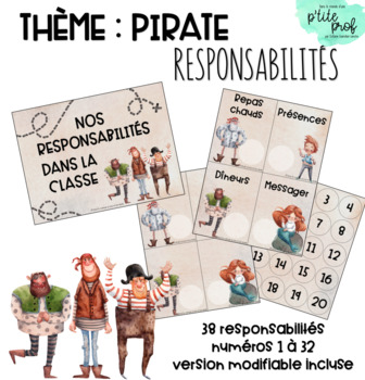 Thème pirate : Responsabilités