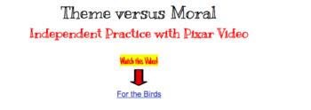 Theme versus Moral HyperDoc