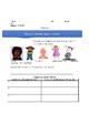 """Theme worksheet using the novel """"Chains"""" by Laurie Halse Anderson"""