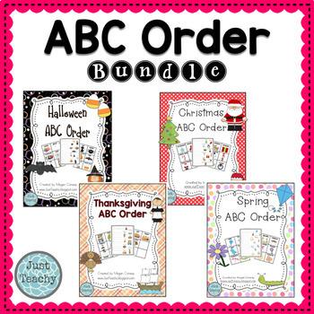 Themed ABC Order Bundle