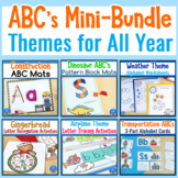 Themed Alphabet Activities Mini-BUNDLE