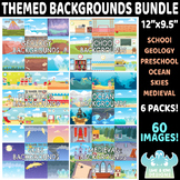 Themed Backgrounds Bundle - Pack 1 (Lime and Kiwi Designs)