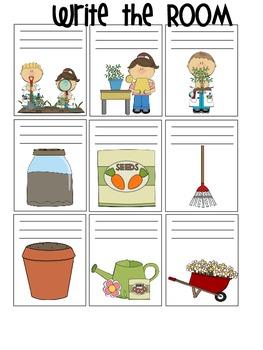 Themed Bundle:  Plant, Nature & Jungle Write the Room Set