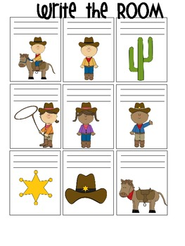 Themed Bundle: Western, Fall and Farm Sets Write the Room