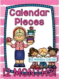 Themed Calendar Pieces for All 12 Months