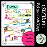 Themed Classroom Newsletter Templates! A New Template for