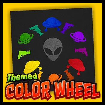 Themed Color Wheel Painting Project By Outside The Lines Lesson