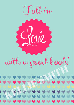 Themed Display Poster - Fall in Love With A Good Book