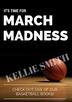 Themed Display Poster - March Madness Basketball
