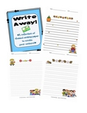 Themed Fillable Writing Paper