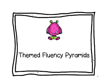 Themed Fluency Pyramids