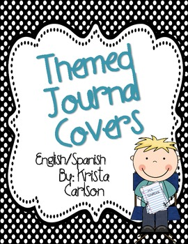 Themed Journal Covers (English/Spanish)