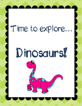 Themed Language Unit- Dinosaurs