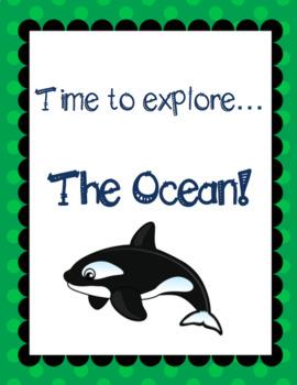 Themed Language Unit- The Ocean