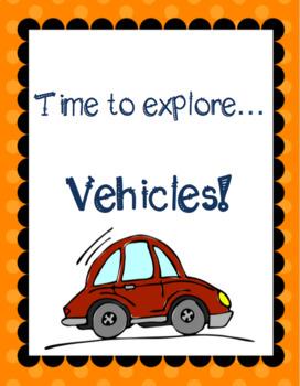 Themed Language Unit- Vehicles